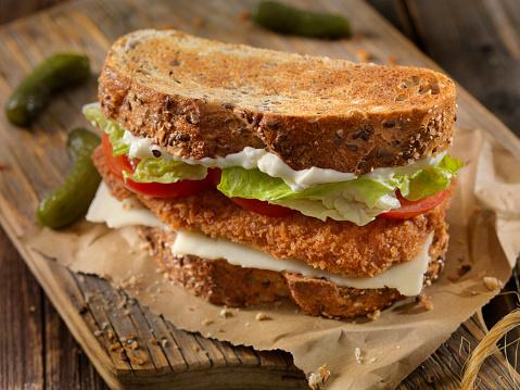 Crunchy「Breaded Pork Cutlet Sandwich」:スマホ壁紙(6)