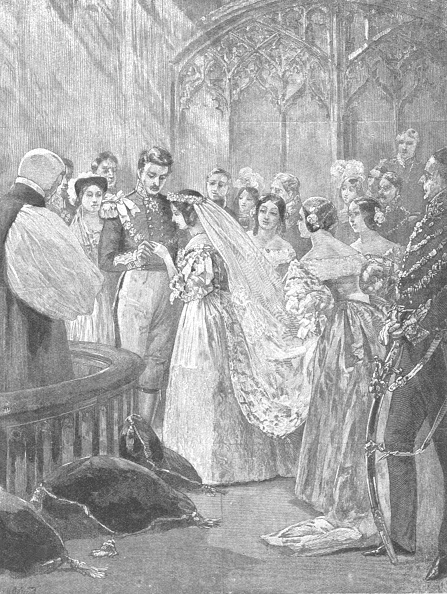 Bride「The Marriage Of Queen Victoria And Prince Albert At St Jamess Palace」:写真・画像(12)[壁紙.com]