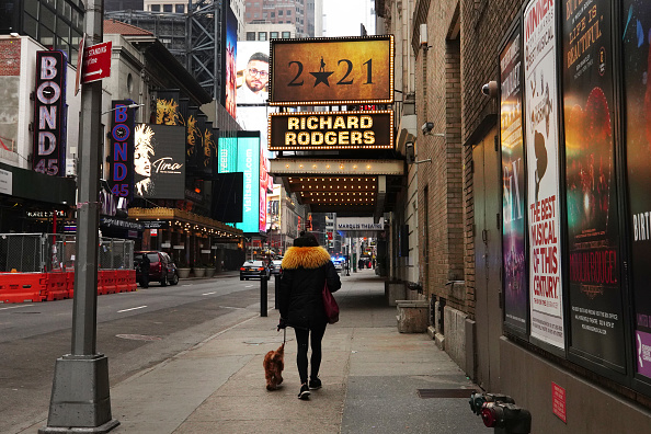 Performing Arts Event「Theaters Across New York City Remain Dark」:写真・画像(12)[壁紙.com]