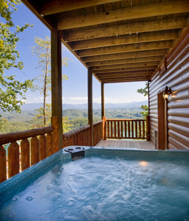 Log Cabin「Hot Tub Heaven」:スマホ壁紙(11)