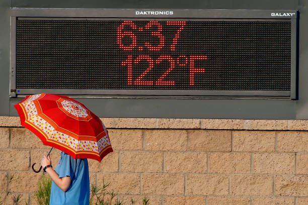 Phoenix Boils In Near-Record Heat Wave:ニュース(壁紙.com)