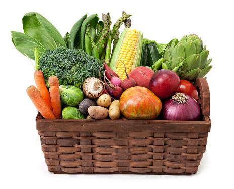 Basket「Fruit and vegetables basket」:スマホ壁紙(2)