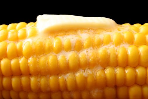 Sweet Food「Butter Slice melting on Hot Corn,」:スマホ壁紙(9)