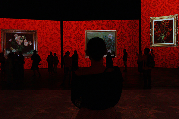 Press Preview「Van Gogh Alive Exhibition Media Preview」:写真・画像(5)[壁紙.com]