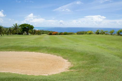 Sand Trap「Scenery of Golf Links by Ocean」:スマホ壁紙(13)