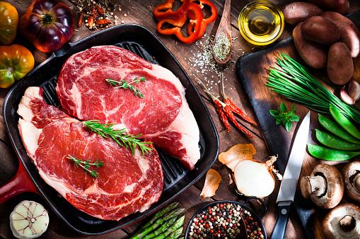 Cast Iron「Cooking beef steak fillets」:スマホ壁紙(8)