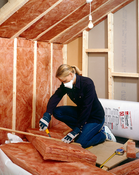 Loft Apartment「Insulating Installing quilt loft-insulation to a roof space」:写真・画像(17)[壁紙.com]