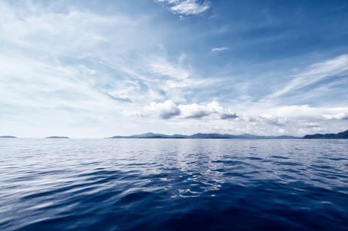 Dark Blue「Deep Blue Ocean」:スマホ壁紙(12)
