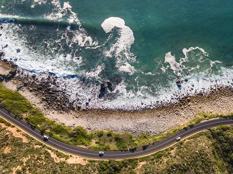 Southern Africa「Winding coastal road, Cape Town」:スマホ壁紙(12)