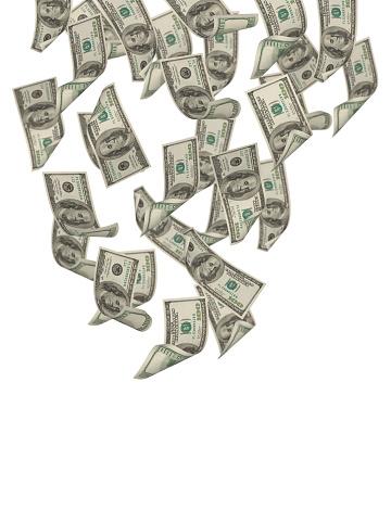 US Currency「Falling Dollars」:スマホ壁紙(19)