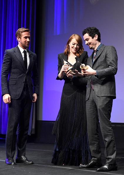 Santa Barbara International Film Festival「The 32nd Santa Barbara International Film Festival - Outstanding Performers: Ryan Gosling and Emma Stone Presented by Belvedere」:写真・画像(13)[壁紙.com]