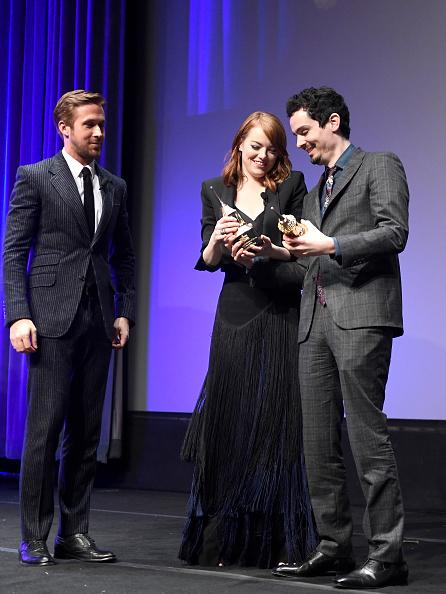 Santa Barbara International Film Festival「The 32nd Santa Barbara International Film Festival - Outstanding Performers: Ryan Gosling and Emma Stone Presented by Belvedere」:写真・画像(12)[壁紙.com]