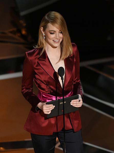 Emma Stone「90th Annual Academy Awards - Show」:写真・画像(8)[壁紙.com]