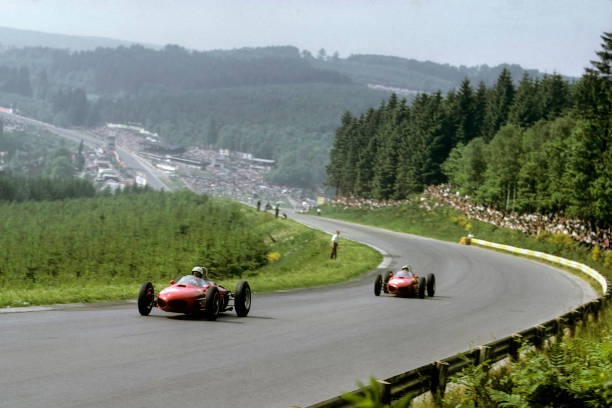 Belgium「Phil Hill, Ricardo Rodriguez, Grand Prix Of Belgium」:写真・画像(15)[壁紙.com]