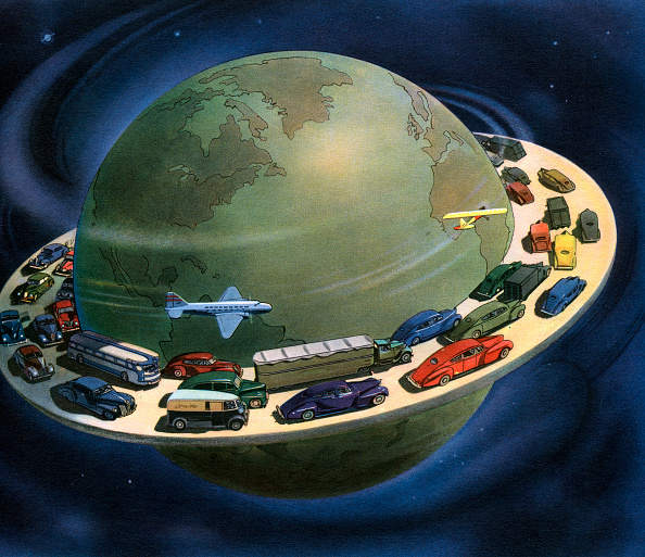 Futuristic「Highway Around The World」:写真・画像(5)[壁紙.com]
