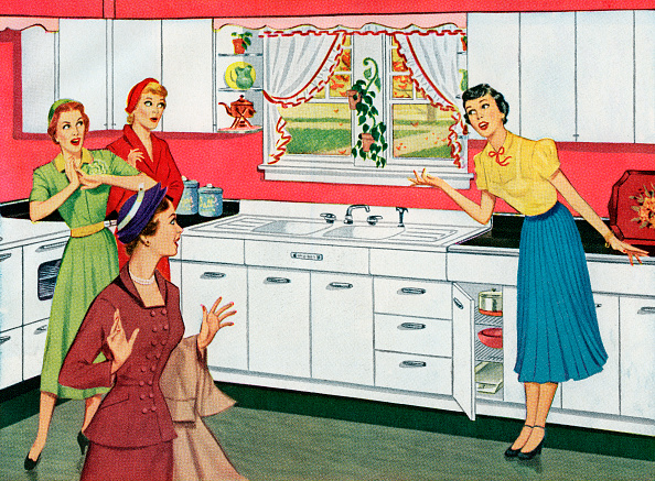 Suburb「Housewife In New Kitchen」:写真・画像(15)[壁紙.com]