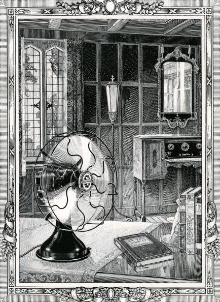 GraphicaArtis「Vintage Electric Fan In Room」:写真・画像(10)[壁紙.com]