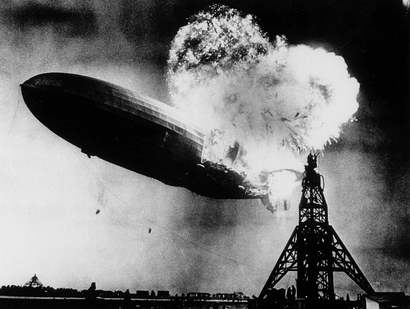 Accidents and Disasters「The Hindenburg Disaster May 6, 1937 In Lakehurst」:写真・画像(4)[壁紙.com]