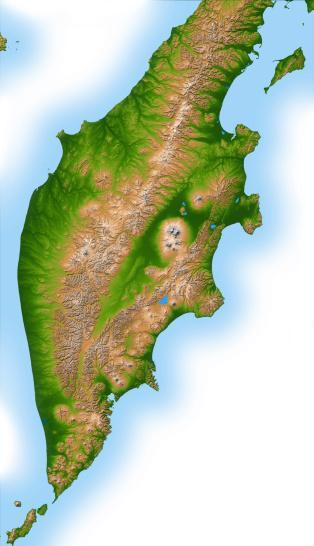 クリチェフスコイ火山「Russia's Kamchatka Peninsula」:スマホ壁紙(2)