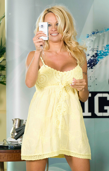 Baby Doll Dress「Pamela Anderson Press Conference Ahead Of Big Brother Appearance」:写真・画像(3)[壁紙.com]
