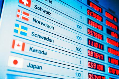 Exchange Rate「Currency exchange board」:スマホ壁紙(3)