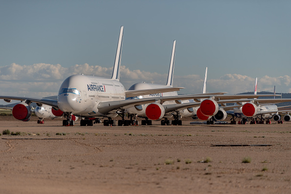 Stationary「The Planes In Spain Park Mainly At Teruel Airport, As Pandemic Continues To Hobble Fleets」:写真・画像(15)[壁紙.com]