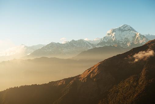 Himalayas「Dhaulagiri I sunset」:スマホ壁紙(10)