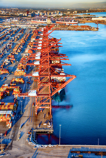 Pier「International Seaport Aerial」:スマホ壁紙(17)