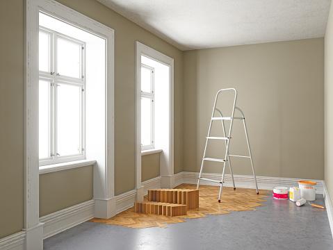日曜大工「アパート改装工事中。ホームの改善の概念」:スマホ壁紙(4)