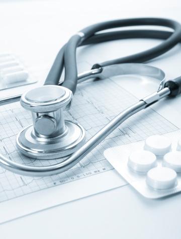 Printout「Sthetoscope, EKG and pills」:スマホ壁紙(7)