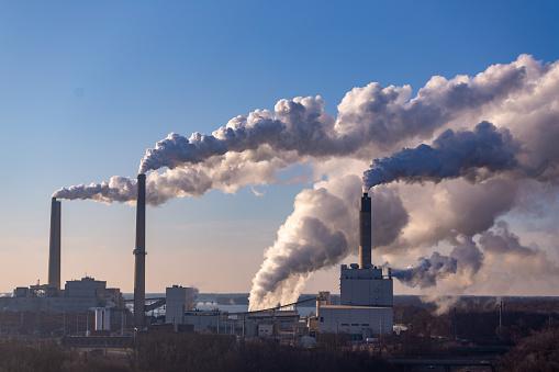 Air Pollution「Wind Blowing Pollution」:スマホ壁紙(6)