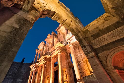 Ancient Civilization「Celsius library ,Ephesus,Izmir,Turkey」:スマホ壁紙(13)