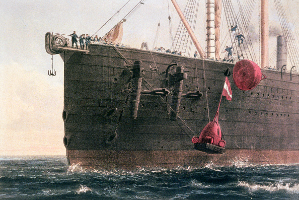 Cable「The Laying Of The Transatlantic Telegraph Cable August 8th 1866」:写真・画像(16)[壁紙.com]