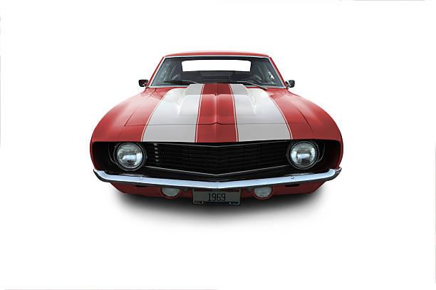 Red 1969 Camaro Muscle Car:スマホ壁紙(壁紙.com)