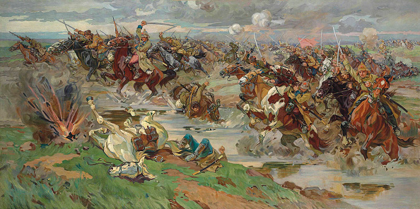 Painting - Activity「The Red Cavalry At Perekop」:写真・画像(13)[壁紙.com]