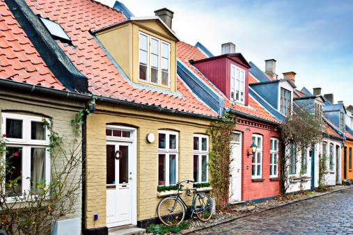 Danish Culture「Houses in Aarhus」:スマホ壁紙(5)