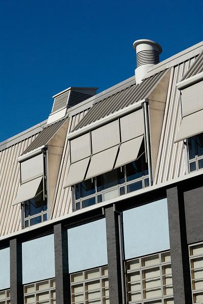 Outdoors「Window sunshades on a modern office building, Deptford, South-East London, UK」:写真・画像(17)[壁紙.com]