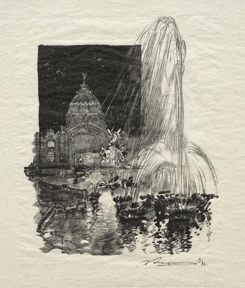1900「Fontaines Lumineuses. Creator: Auguste Louis Lepère (French」:写真・画像(7)[壁紙.com]