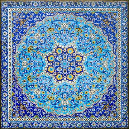 Iranian Culture「Iranian Tile Decor」:スマホ壁紙(12)