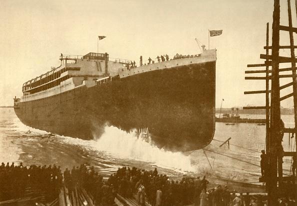 Passenger Craft「Launch Of The 'Orama' (Orient Line)」:写真・画像(4)[壁紙.com]