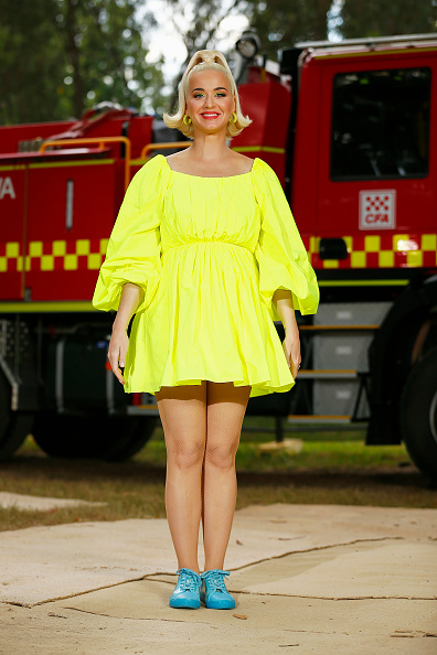 Yellow「Katy Perry Performs Fight On Concert For Firefighters And Bushfire Victims In Regional Victoria」:写真・画像(15)[壁紙.com]