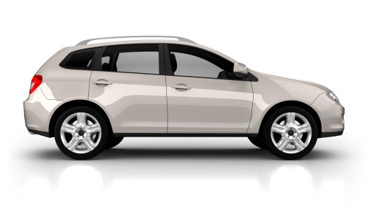 4x4「SUV Car in studio - isolated on white」:スマホ壁紙(5)