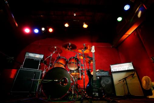 Musical instrument「Before the Rock Concert」:スマホ壁紙(10)