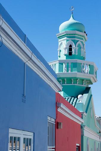 Malay Quarter「Colourful houses in Bo-Kaap, South Africa」:スマホ壁紙(2)