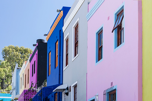 Malay Quarter「Colourful houses in Bo-Kaap, South Africa」:スマホ壁紙(10)