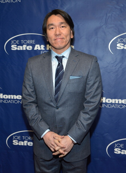 Hideki Matsui「Joe Torre Safe At Home Foundation's 10th Anniversary Gala」:写真・画像(4)[壁紙.com]