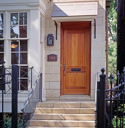 Front Door「Steps and Front Door of Townhouse」:スマホ壁紙(10)