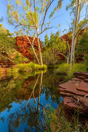 Escarpment「Weano Gorge, Karijini National Park, Western Australia, Australia」:スマホ壁紙(8)