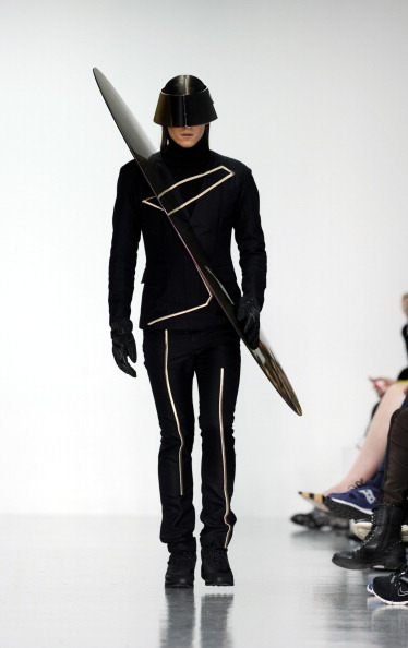 Model - Object「Kay Kwok Presented By GQ China: Runway - London Collections: Men AW14」:写真・画像(9)[壁紙.com]