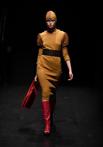 Leather Boot「Siyar Akboga - Runway - Mercedes-Benz Fashion Week Istanbul - 2018」:写真・画像(9)[壁紙.com]